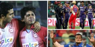 Famous controversies in IPL match
