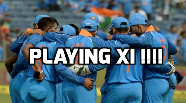 INDIA PREDICTED PLAYING XI