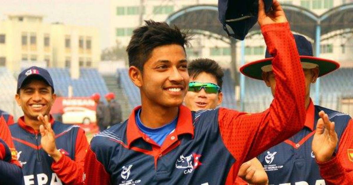 IPL 2018: आईपीएल खेलने वाले नेपाल के पहले खिलाड़ी संदीप लामिछाने पहनेंगे इस नम्बर की जर्सी, शेयर की तस्वीर 1