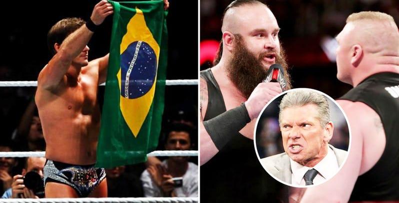WWE रेस्लरो ने की ये छोटी सी गलतियाँ और विन्स मैकमोहन ने कर दिया सस्पेंड, इस रेसलर को मिली थी हैट पहनने की सजा 9