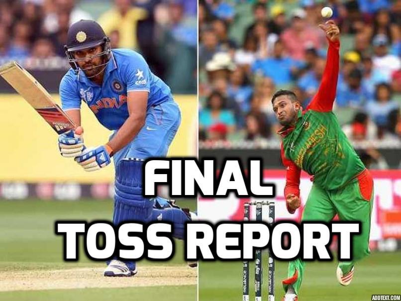 Nidahas Trophy: INDvBAN: भारत ने टॉस जीता पहले गेंदबाजी का फैसला, स्टार खिलाड़ी को मिली फाइनल के लिए भारतीय टीम में जगह 11