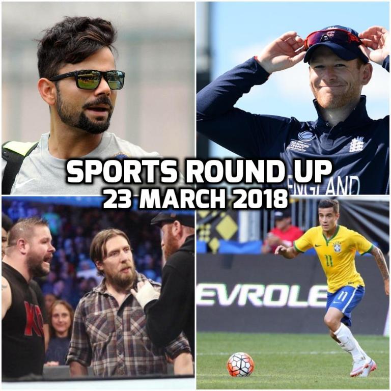 स्पोर्ट्स राउंड अप: एक नजर में पढ़े 23 मार्च 2018 की खेल जगत से जुड़ी हर एक बड़ी खबर 8