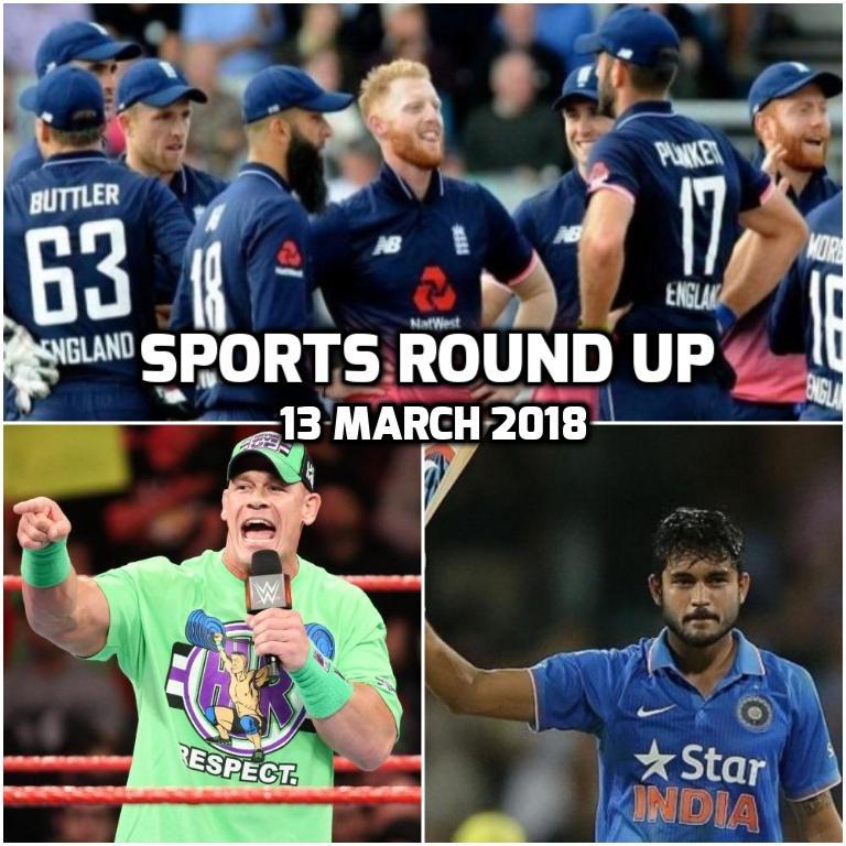 स्पोर्ट्स राउंड अप: एक नजर में पढ़े 13 मार्च 2018 की खेल से जुड़ी हर एक बड़ी खबर 15