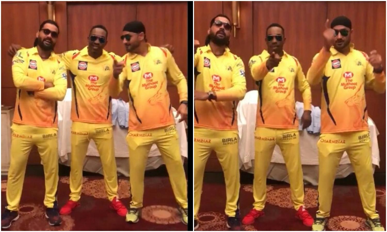 IPL 2018: आईपीएल के शुरू होने से पहले ही भज्जी, मुरली विजय और डीजे ब्रावो को चढ़ा आईपीएल का बुखार, यह मजेदार वीडियो देख नही रुकेगी आपकी हंसी 17