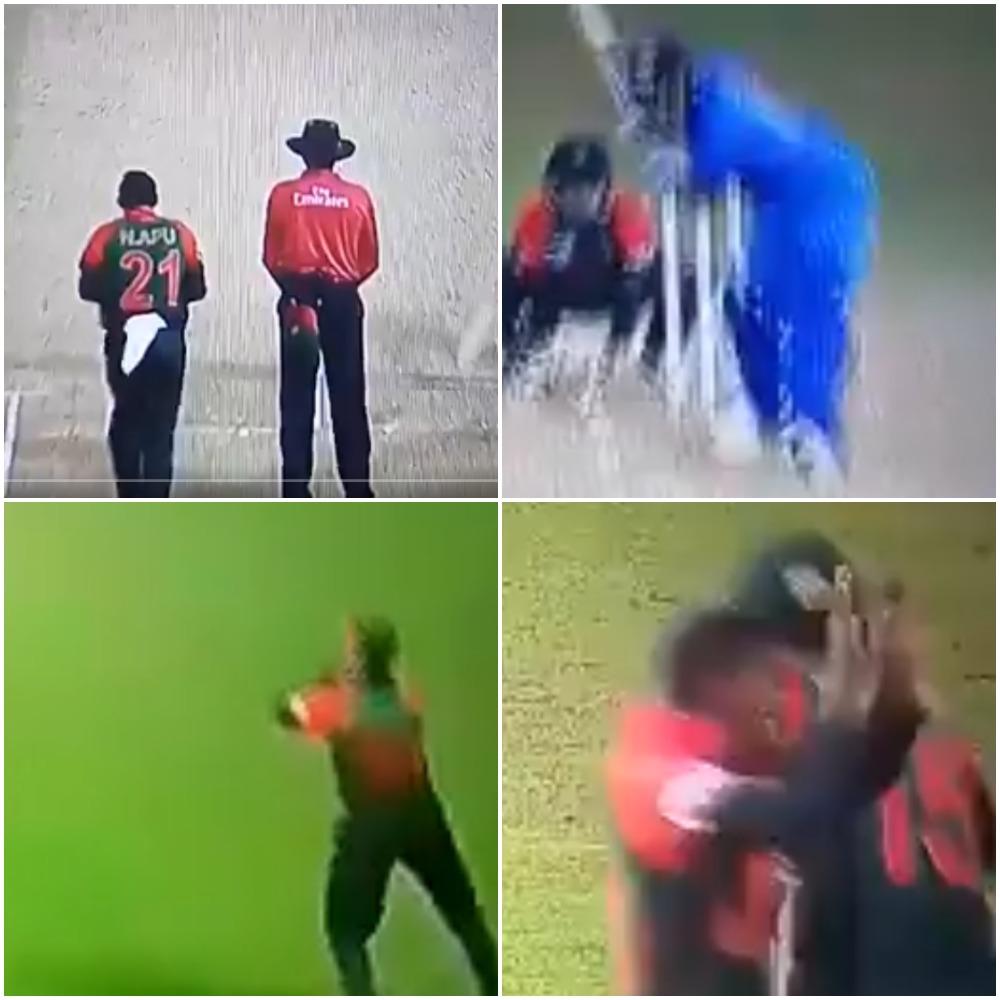 वीडियो : 13.2 ओवर में रोहित शर्मा हुए आउट तो बांग्लादेश ने एक बार फिर की ये शर्मनाक हरकत 9