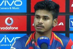 """Shreyas Iyer say's """"its my day"""" after win against Kolkata"""