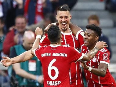 जर्मन लीग : बायर्न ने मोंचेनग्लादबाक को 5-1 से रौंदा 12