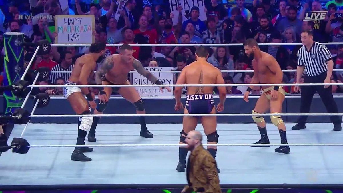 WrestleMania34: WWE को मिला नया USA चैम्पियन, रूसेव को फिर हाथ लगी निराशा 52