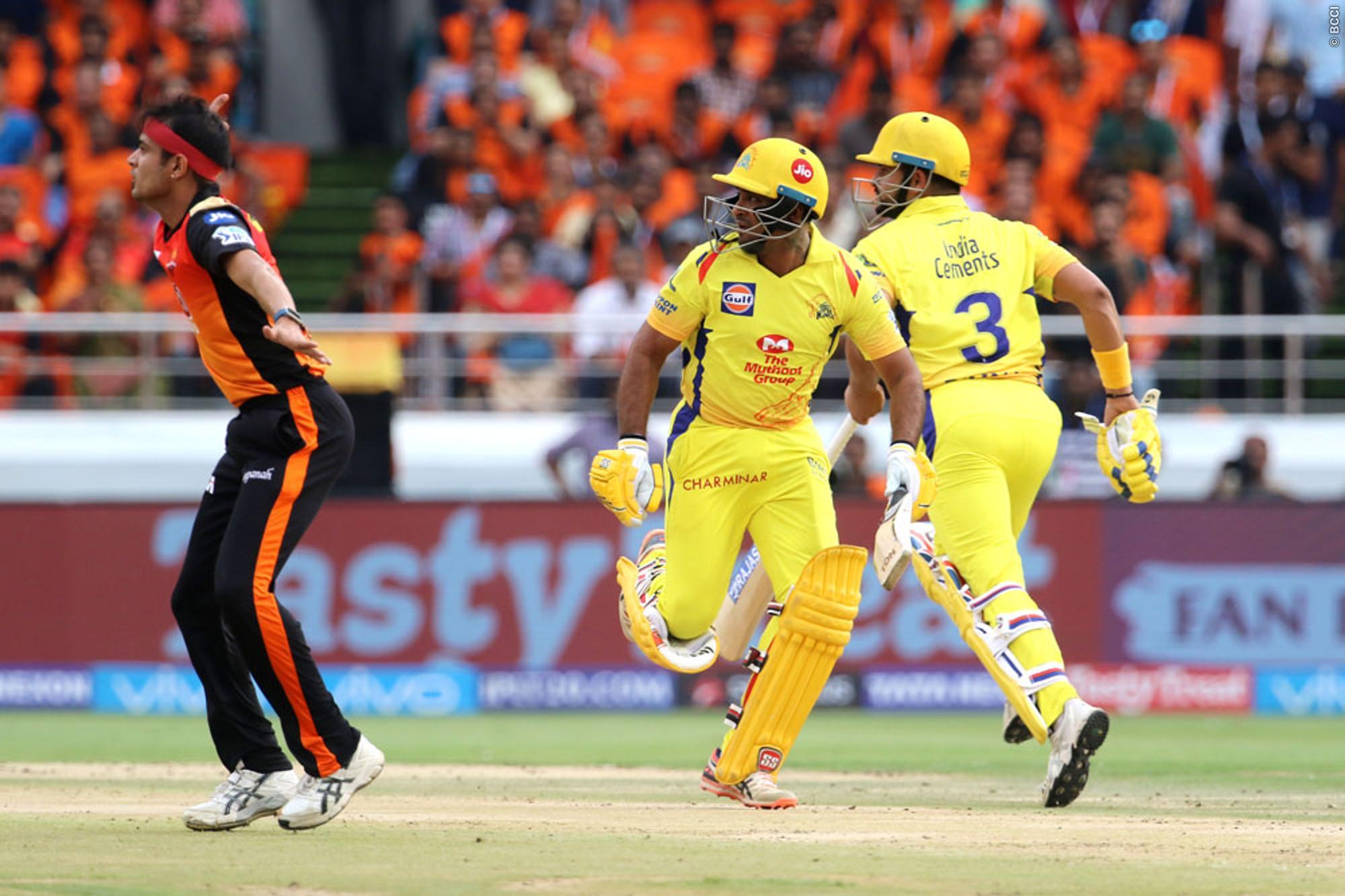 STATS: हैदराबाद और चेन्नई के बिच मैच में बने कुल 6 ऐतिहासिक रिकॉर्ड, लेकिन रैना ने कोहली को छोड़ा पीछे 3
