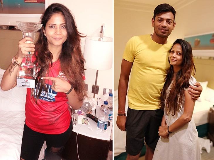 PHOTO: किंग्स इलेवन पंजाब के स्टार गेंदबाज अंकित राजपूत की पत्नी है बेहद ही खुबसुरत, देखे तस्वीरे 6
