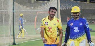Deepak chahar Chennai Bowler who take wicket with DRS