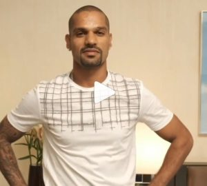 Shikhar dhavan shares a special video for his fans showing his swag