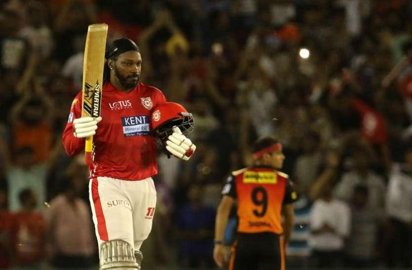 IPL 2018 का पहला शतक लगाने के बाद बाकि आईपीएल फ्रेंचाइजी के मालिकों पर भड़के क्रिस गेल ने खुलेआम कही ये बात 2
