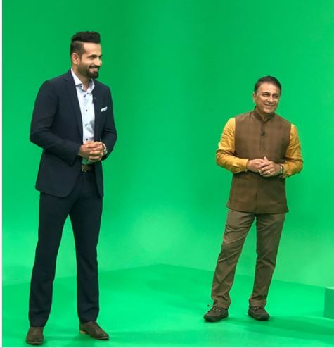 Irfan pathan share a pic with sunil gavaskar and say special