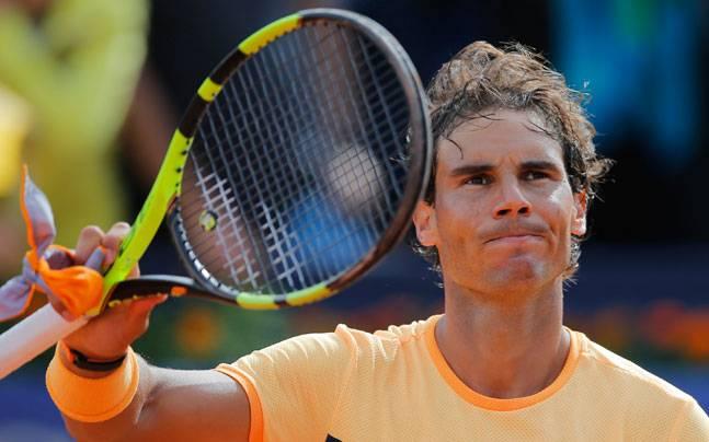 टेनिस : बार्सिलोना ओपन के क्वार्टर फाइनल में नडाल 1