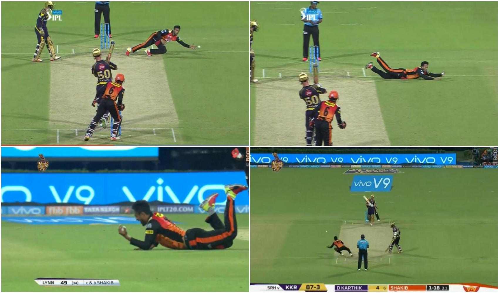 VIDEO: शाकिब अल हसन ने पकड़ा 2018 का सर्वश्रेष्ठ कैच, देख क्रिस लिन को नहीं हो रहा था आँखों पर यकीन 7