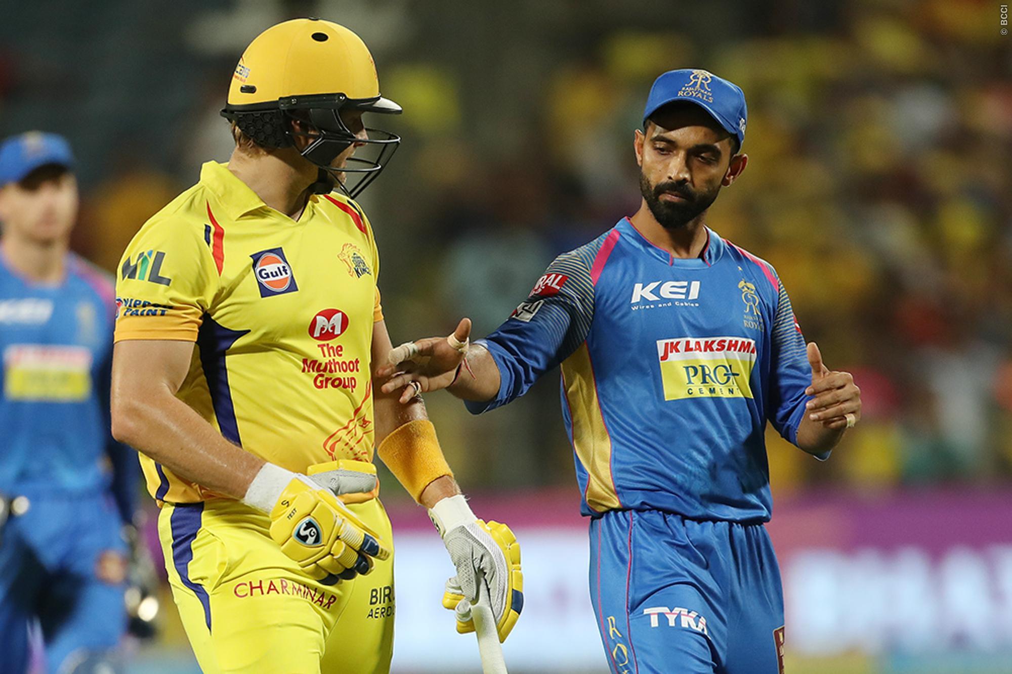 STATS: चेन्नई सुपर किंग्स बनाम राजस्थान रॉयल्स के बीच मैच में बने कुल 6 रिकॉर्ड, तो ऐसा करने वाले दुनिया के एकलौते बल्लेबाज बने शेन वाटसन 5