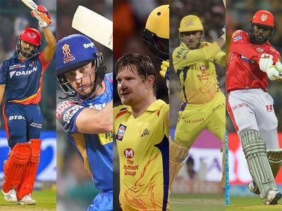 IPL 2018: आईपीएल 2018 में सबसे ज्यादा गेंदों का सामना करने वाले 5 खिलाड़ियों में 4 भारतीय 3
