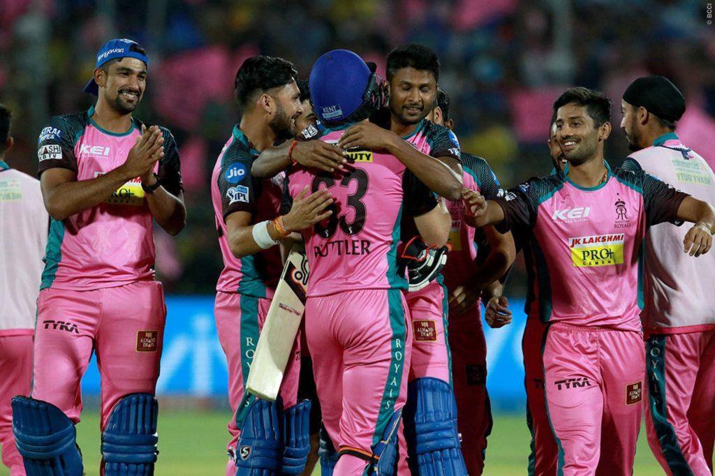 RR VS CSK- चेन्नई के खिलाफ मिली जीत के उत्साह में अजिंक्य रहाणे ने खोल डाला गौथम के विस्फोटक पारी का राज 5