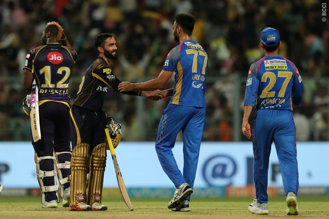 IPL 2018: आखिरकार वजह आई सामने इस कारण केकेआर से हार आईपीएल से बाहर हुई राजस्थान 12