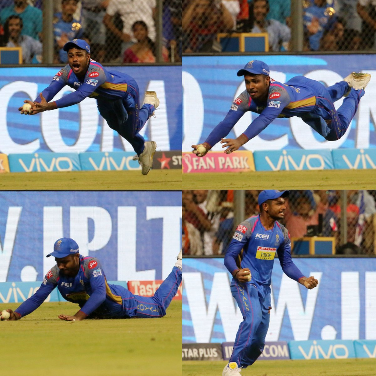 विडियो: एक बार फिर से मैदान में सुपरमैन बने संजू सैमसन, लिया हैरान कर देना वाला कैच 12