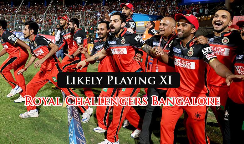 PLAYING XI: धोनी को मात देने के लिए विराट का मास्टर स्ट्रोक टीम में इन 2 दिग्गज खिलाड़ियों को जगह, 1 पहली बार खेलेगा आईपीएल 2018 1