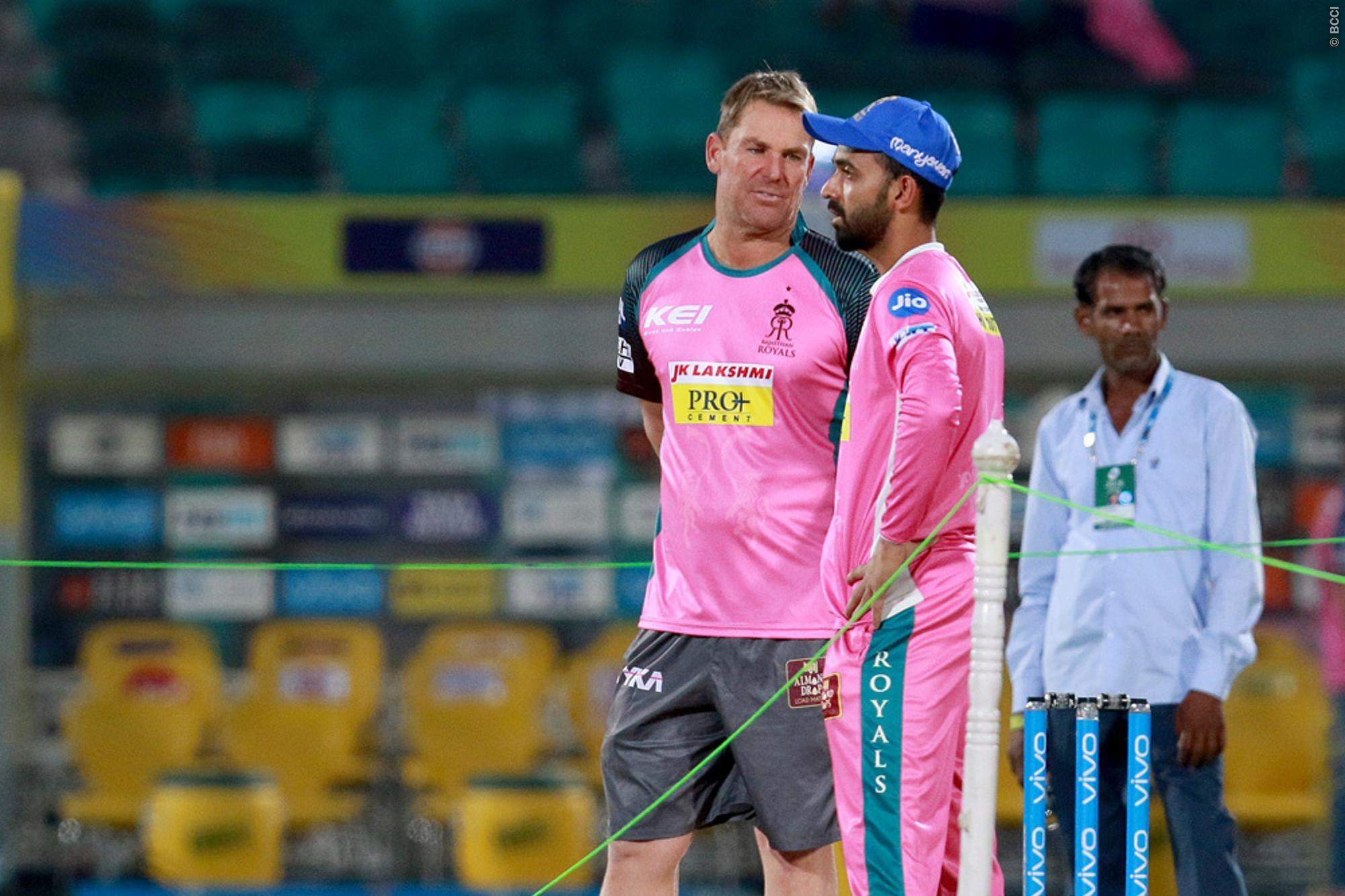 राजस्थान रॉयल्स की शानदार जीत के बाद राजस्थान ने रद्द कराई शेन वॉर्न की फ्लाइट 16