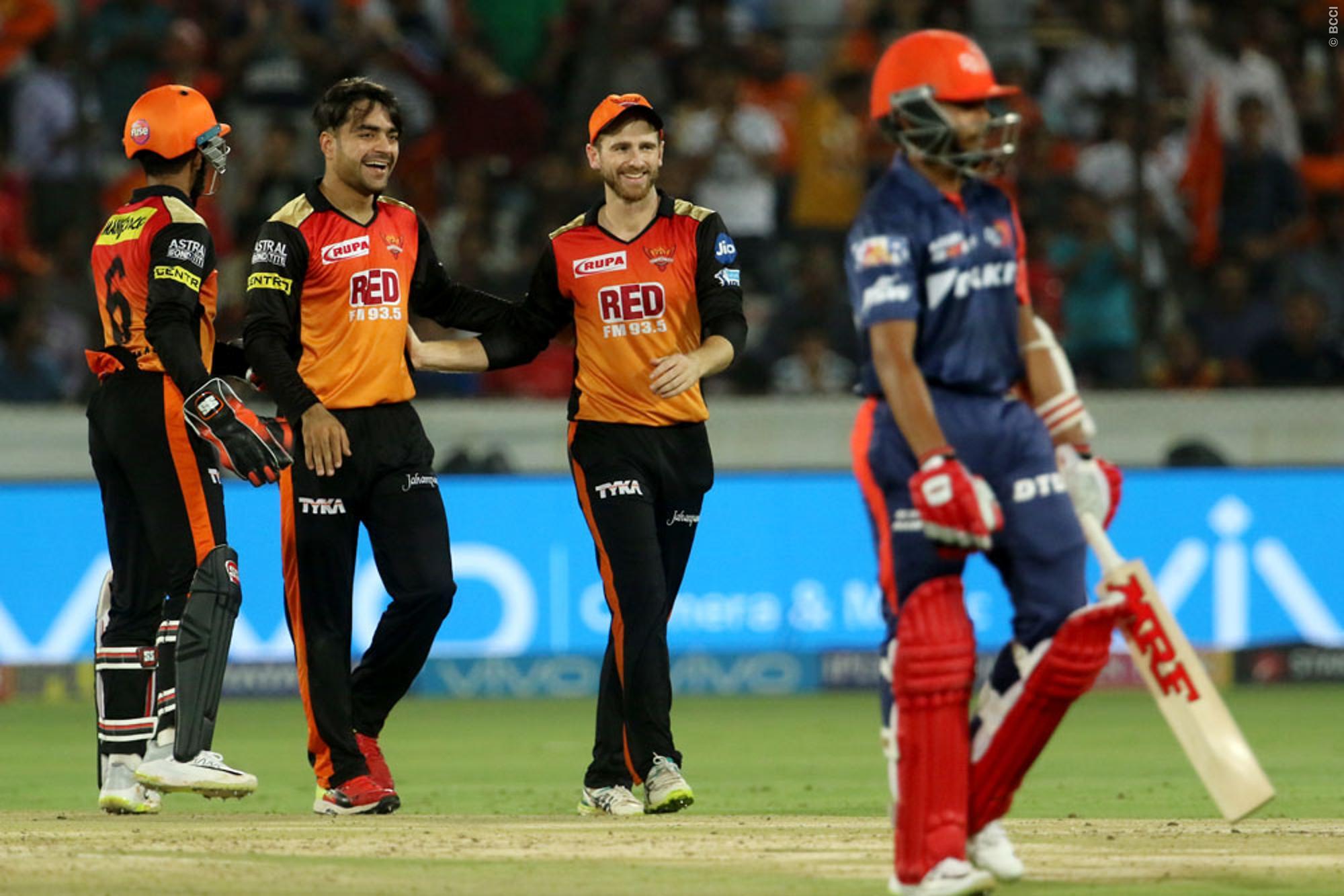 IPL 2018: युसूफ पठान के तूफ़ान में उड़ी दिल्ली, सनराइजर्स ने 7 विकेट से दिया मात 17