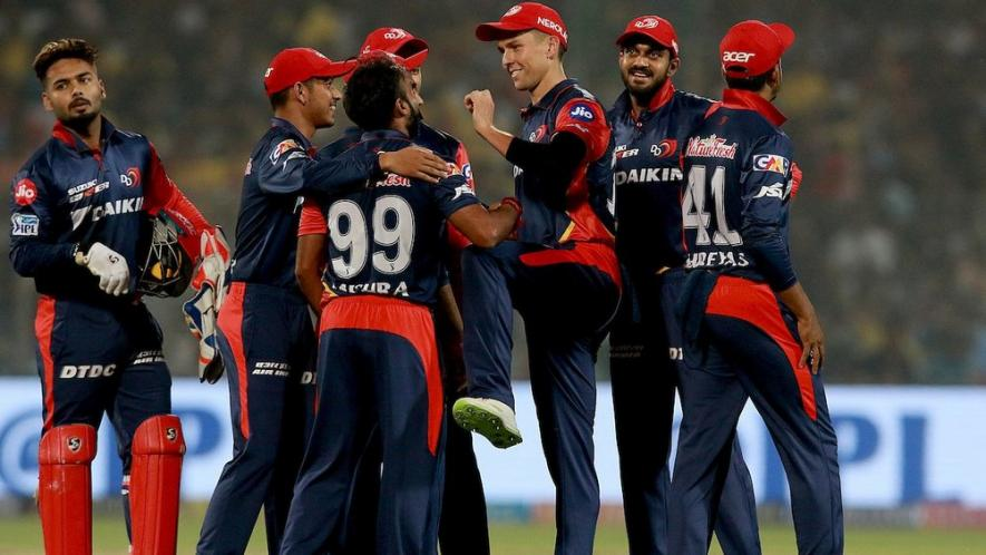 मुंबई के खिलाफ मिली जीत के बाद दिल्ली के चीयरलीडर्स और खिलाड़ियों ने मिलकर किया कुछ ऐसा मुसीबत में फ्रेंचाइजी 1
