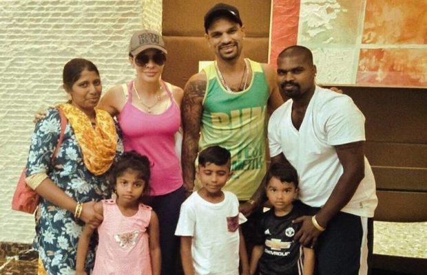 When Shikhar Dhavan meets his biggest fan form Banglore, see pic