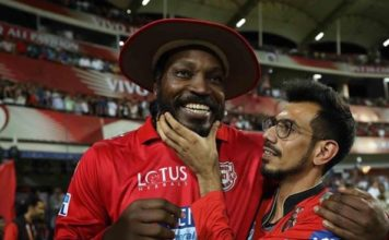 yuzvendra chahal mis his buddy chris gayle, This pic is proof