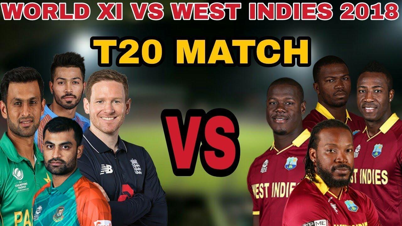 World XI vs West Indies T20 Match Live streaming: खुशखबरी फेसबुक पर फ्री में देख सकते है विश्व एकादश बनाम वेस्टइंडीज मैच 36