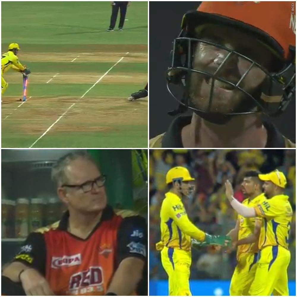 वीडियो : 12.1 ओवर में पलक झपकते ही धोनी ने उड़ाई विलियमसन की गिल्लियां, देख हर कोई रह गया दंग 7