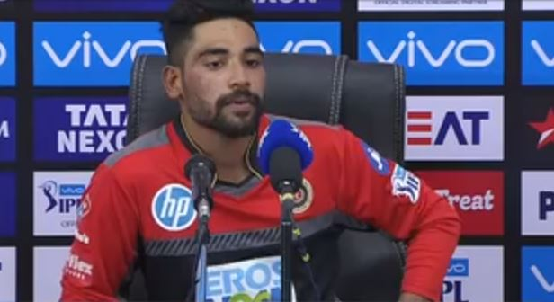 Mohammad siraj opens up shocking moment after lossing match with SRH