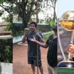 Sachin Tendulkar fall from a mango tree, After this he start his cricket carrier