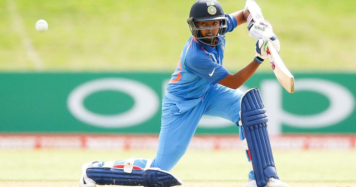 इंग्लैंड में शानदार बल्लेबाजी करने वाले पृथ्वी शॉ ने इस दिग्गज भारतीय को दिया अपनी सफलता का पूरा श्रेय 1