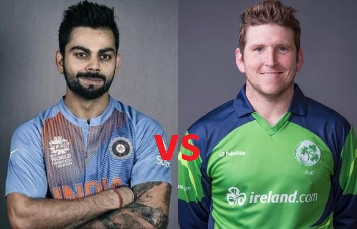 हेड टू हेड- भारत और आयरलैंड के बीच खेला गया है अब तक केवल एक टी-20 मैच, जाने कैसा रहा दोनों का प्रदर्शन 2