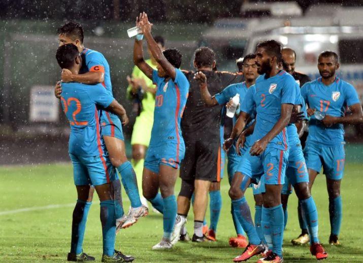 भारतीय फुटबॉल टीम की शानदार जीत पर सहवाग ने भी दी अपने अंदाज में बधाई 1