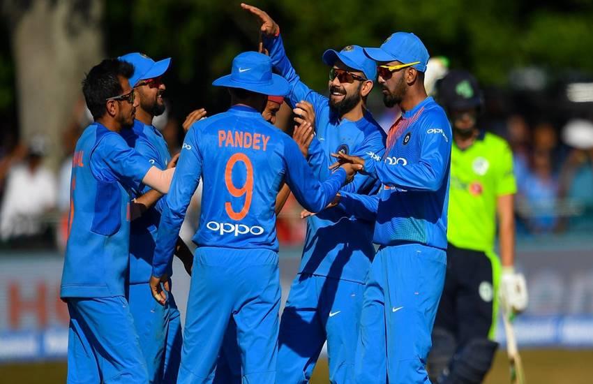 आयरलैंड के सामने 213 रन बनाते ही भारत ने खत्म की ऑस्ट्रेलिया की बादशाहत