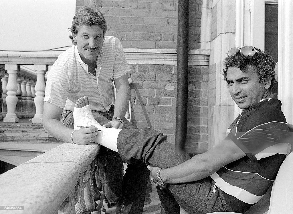 ENG vs IND: जब इंग्लैंड के खिलाफ एक शॉट से टूट गयी थी सुनील गावस्कर की हड्डी 10