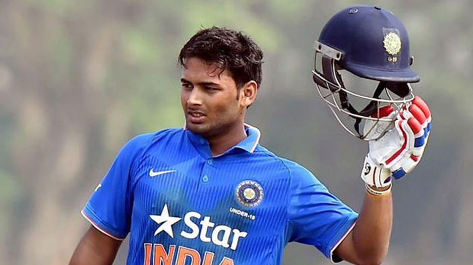 Rishabh Pant included for the first time in the Indian Test team