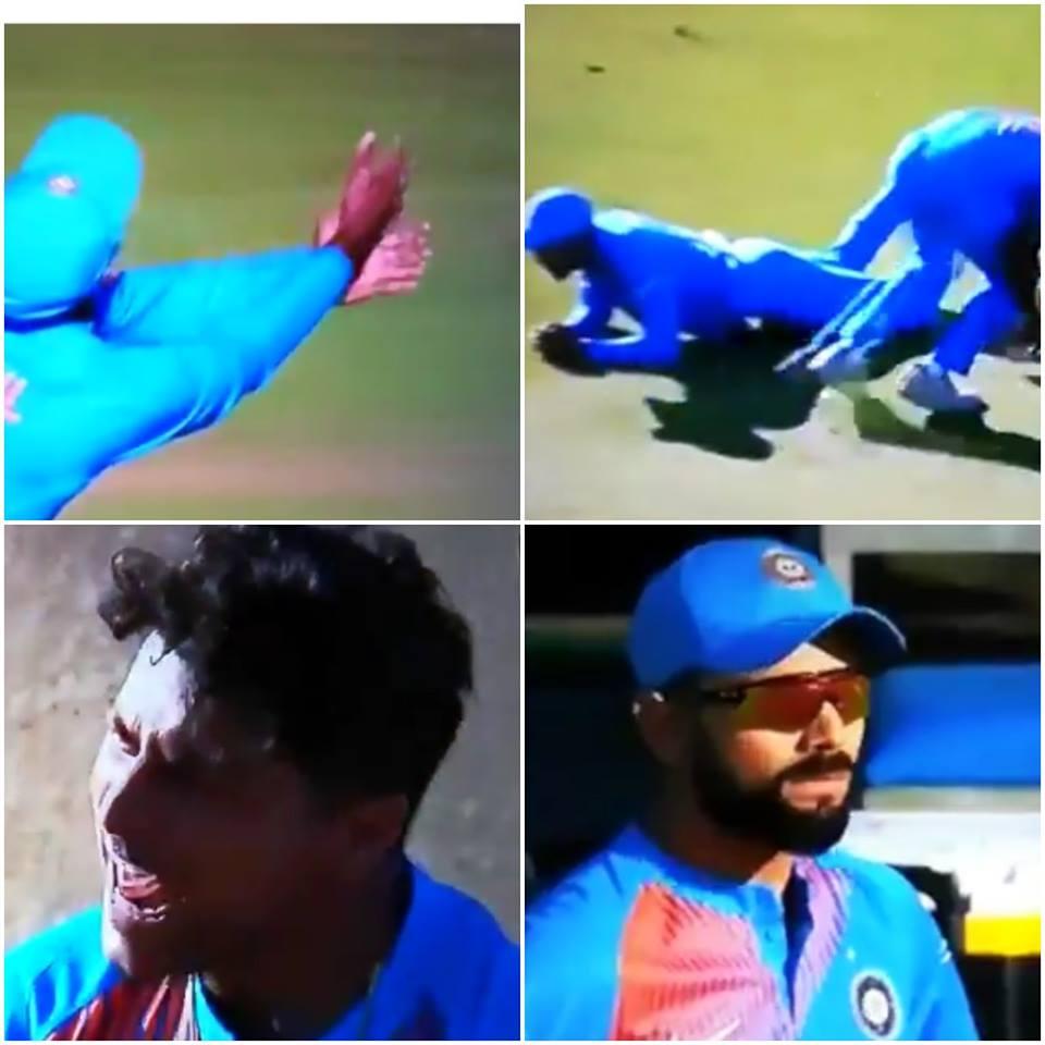 वीडियो: बटलर का कैच छोड़ने पर लोकेश राहुल पर भड़के कुलदीप यादव, तो विराट कोहली ने दी कुछ ऐसी प्रतिक्रिया