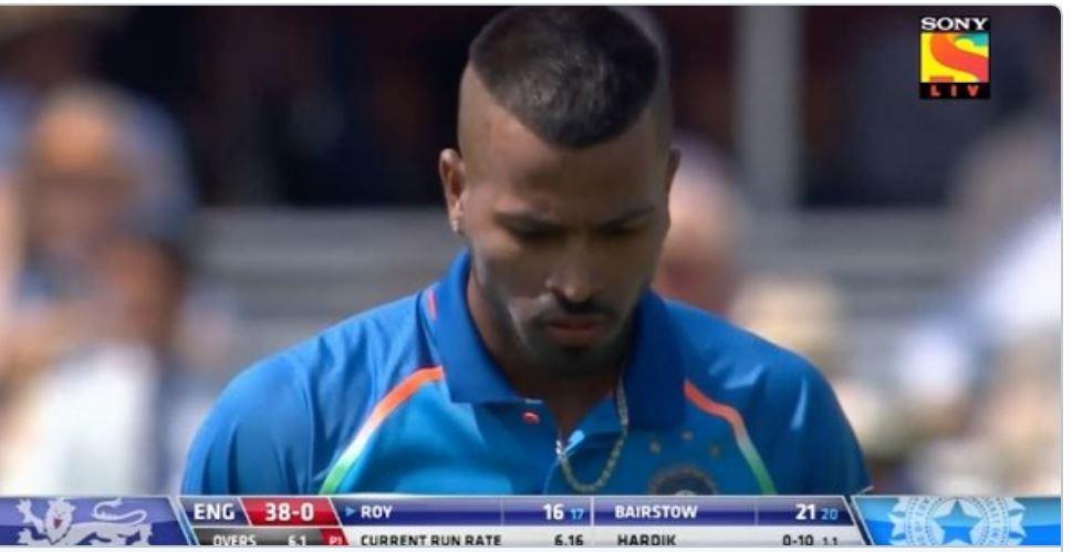 VIDEO: 7 वें ओवर में हार्दिक पंड्या की ये गलती कही पड़ न जाए टीम इंडिया पर भारी, देखे वीडियो 6