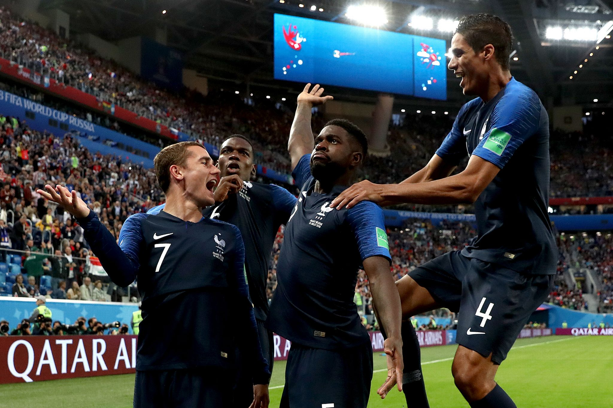 The eyes of France are on the Second World Cup trophy, Croatia is desperate for the best performance