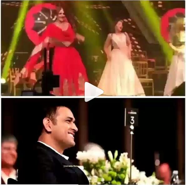 VIDEO: पूर्णा पटेल की संगीत में साक्षी ने धोनी के सामने डांस कर लुट ली महफ़िल, वायरल हो रही वीडियो 10