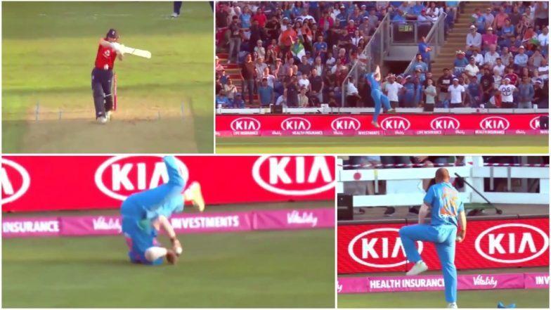 इंग्लैंड बनाम भारत: भले ही हारा भारत, लेकिन धवन ने पकड़ा 2018 का सर्वश्रेष्ठ कैच, देख यकीन करना मुश्किल 16