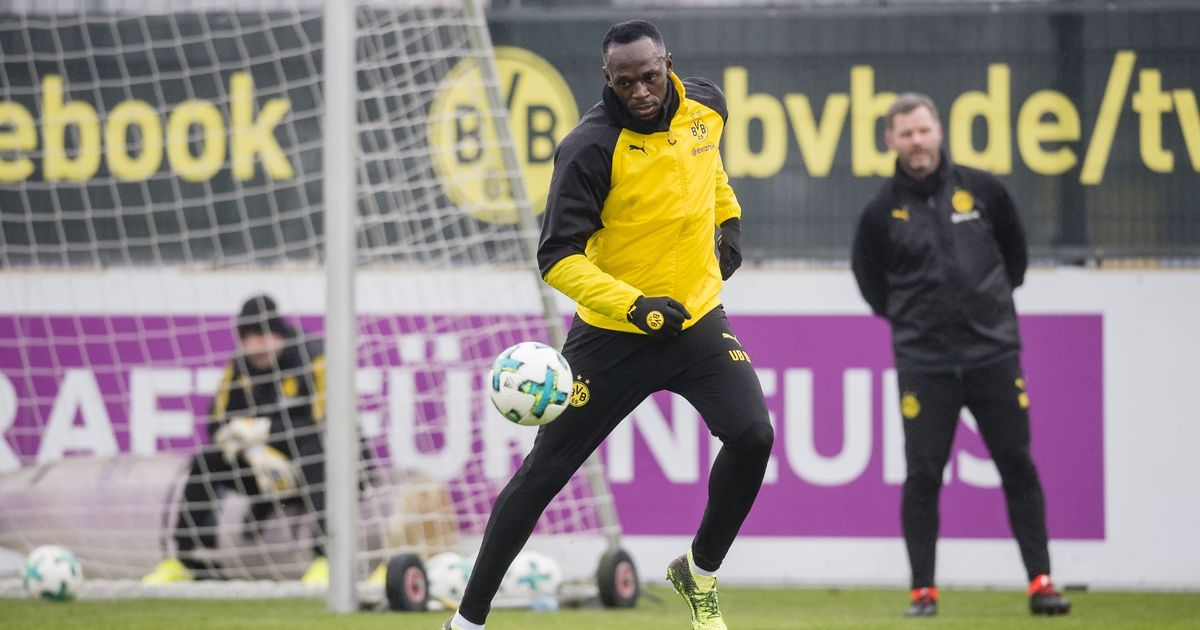 Usain-Bolt-Trains-At-Borussia-Dortmund