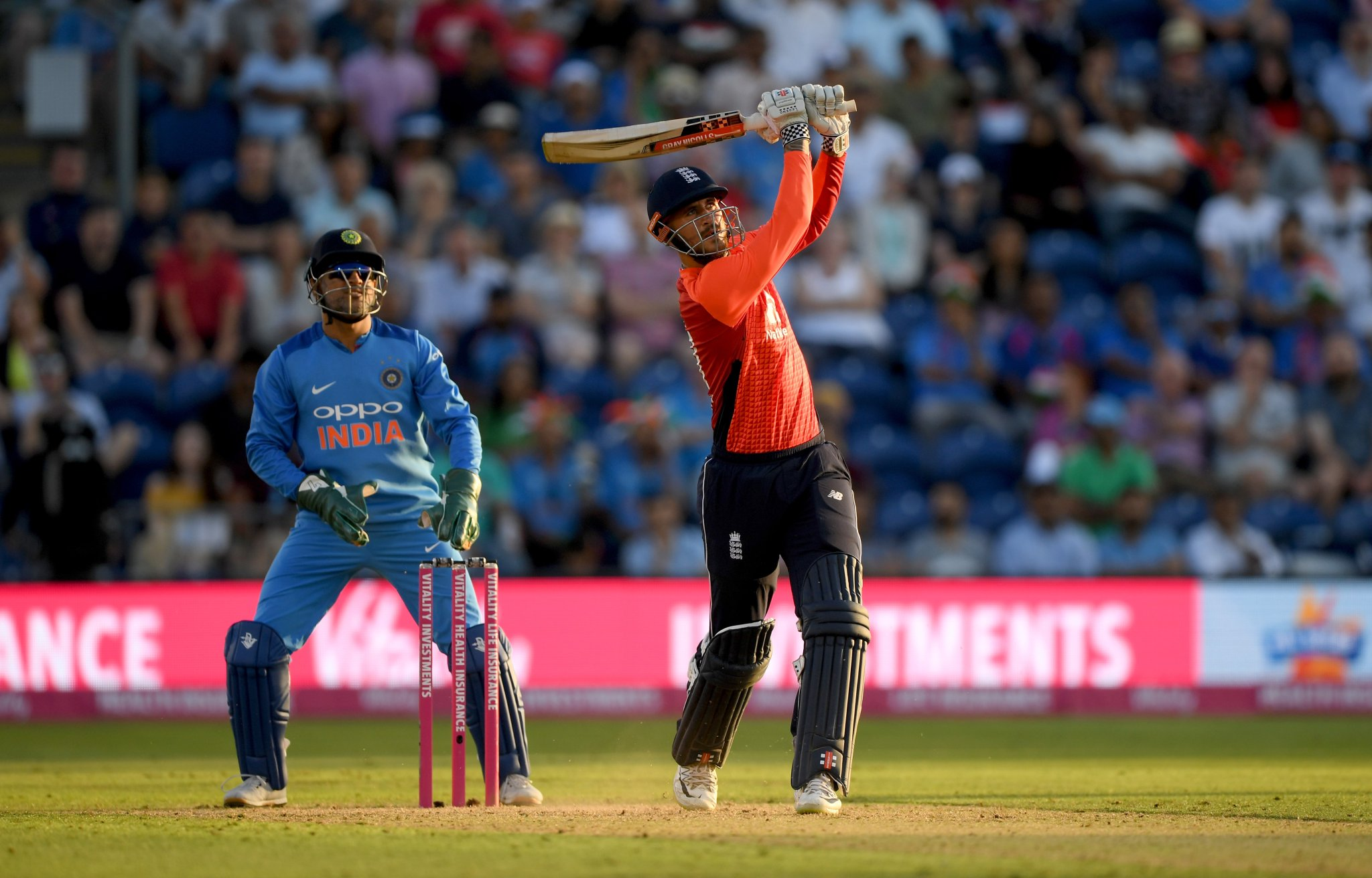 England's innings from Hales's innings