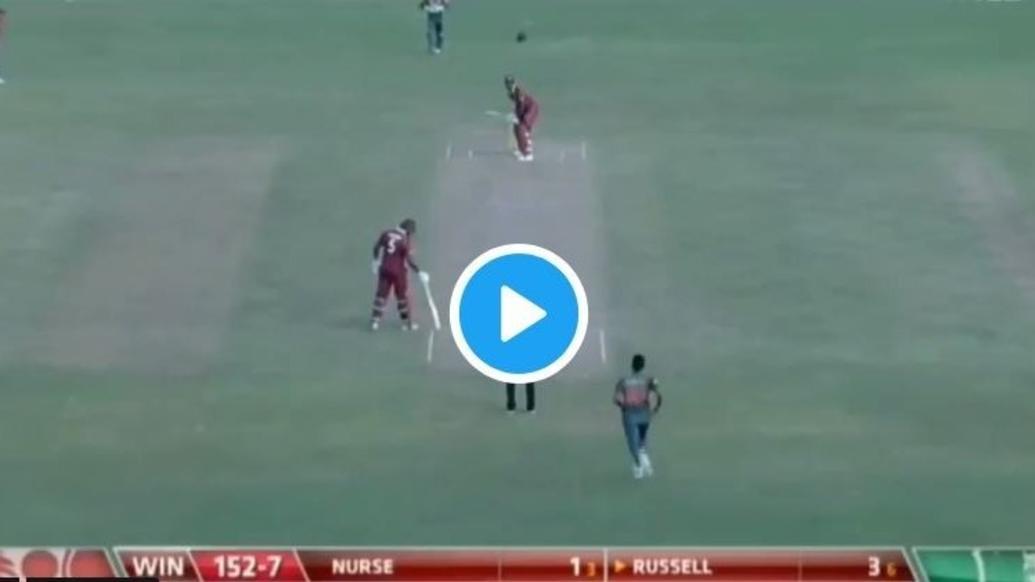 VIDEO: रसेल ने मारा 104 मीटर लम्बा छक्का खो गयी गेंद फिर अम्पायर ने किया कुछ ऐसा हैरान रह गये लोग 5