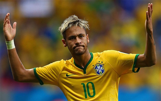 The image of the worse and worse the image of Neymar